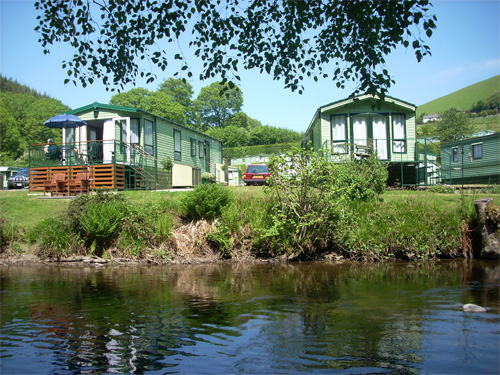 Clywedog Riverside Holiday Home Park