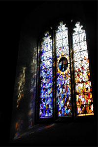 St Idloes Church Millenium Window