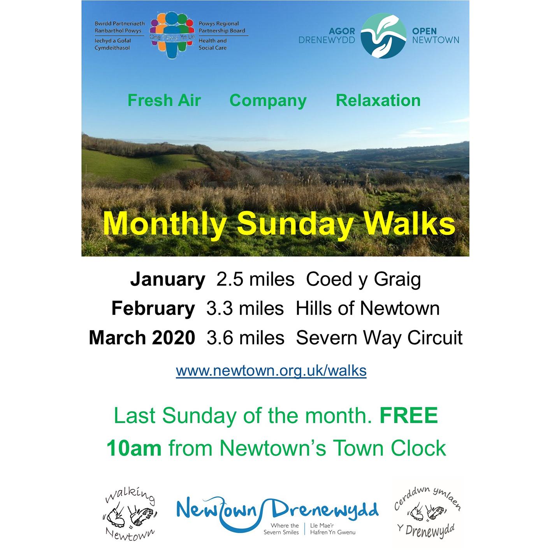 Walks from Newtown